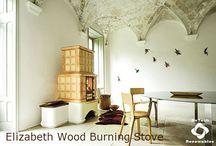 Sergio Leoni Wood Burning Stoves with Additional Accumulation / Sergio Leoni Wood Burning Stoves with Additional Accumulation