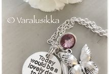 Varalusikka Dream Spoons / Hand made Varalusikka jewellery for those, who has Dreams and who believe in miracles, how small they might be.