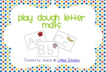 Preschool Centers - Play dough / by Jennifer Barham
