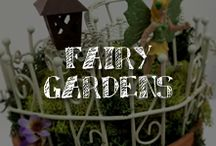 "Moore: Fairy Gardens / Do you believe in fairies? Direct from the second star to the right, these whimsical woodland fairy garden ideas have us saying quick that ""WE DO!"" Certain to attract your very own flutter of fairies, these plans for tiny fairy houses and fairy gardens -- whether indoors or out -- will inspire hours of magical creative play. (BYO pixie dust…) / by A.C. Moore Arts & Crafts"