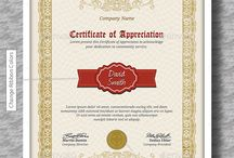 Certificate Templates PSD / Best printable modern certificate PSD templates ready to download. Certificate templates in this collection could be used for certificate of achievement, certificate of appreciation, graduation certificate and award certificate.
