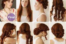 wedding hair, nails, & makeup