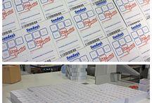Drukwerk van klanten | stempelkaarten / Regelmatig sturen onze klanten een fotootje van hun bestelde producten. Bekijk hier wat we zoal voor hen hebben mogen maken. Ook blij met een besteld product? Stuur ons een fotootje. Vinden we leuk!