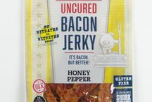 Bacon Jerky / Combine your two favorite foods in the world: Bacon + Jerky!