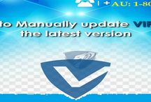 Contact 1-800431454 Manually Update a Vipre Business