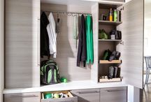 retro modern fit out - mudroom