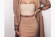 nude fashion / my favourite colour is nude and baby pink