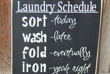 Laundry / by Ashley Marshall