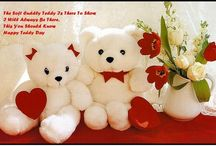 Teddy Day Quotes / In this Valentine's Day 2017 now get a teddy bear for your sweetheart and impress her/him. Teddy Day 2017 is the 4th day of the Valentine's week which is celebrated very enthusiastically on February 10th by the youngers & other interested people
