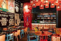 Westpac food court / Asian theme