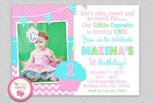 Kasidee - 1st Bday! / Our little cupcake is turning one! / by Ashley Taylor