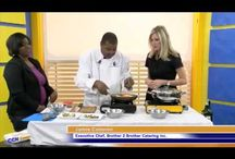 Chef James Cameron on TV / TV cooking segement