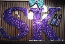 Sorority crafts / by Debbie Gonzalez