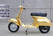 POLINI 23 K GOLD VESPA / VESPA POLINI ORO 23 CARATI > POLINI 23 K GOLD VESPA info: http://www.polini.com/en/page_864.html