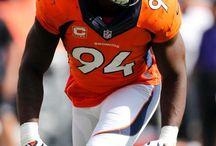 I Bleed Orange and Blue / I am a die-hard Denver Broncos fan.