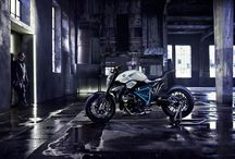 BMW Concept Motorcycle / New not yet in production BMW motorcycle two wheel art