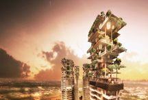 Futuristic Eco Buildings