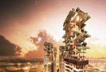 Futuristic Eco Buildings
