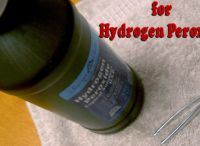 Hydrogen Peroxide / Anything About Uses for Hydrogen Peroxide