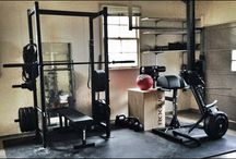 Mitch workout room