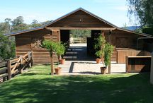 Horse barns and tack rooms