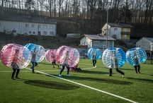 Frühling: Zeit für Bubble Soccer!