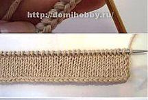 techniky pletenia