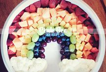Rainbow party / by Amy {fun-baby-shower-ideas.com}