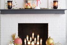 Beautiful Fireplaces / by Christina Deras