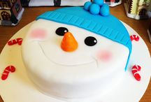 Christmas cakes and cupcakes / Christmas cakes and cupcakes