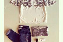 sequins, lace, ....