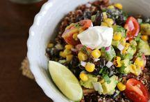 meals: quinoa bowls