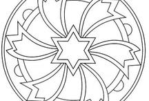 coloring-mandalas / by Victoria Clarke