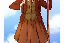 Fem!Hobbit/LOTR