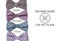 """Dwyane Wade Road Trip Collection / Wade has made his mark in Miami, which heavily influenced his first collection with us. This time around, he wanted to add color from other places that have inspired him. Get to know his third collection with The Tie Bar titled """"The Road Trip Collection."""""""