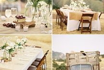 Tables & Chairs / by Bridget Fouche