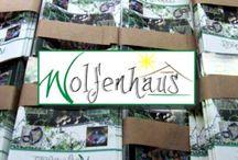 Wolfenhaus Garten / Unser Garten und Dauerausstellung meiner Keramiken