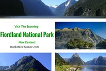 New Zealand and Australia / The natural beauty and wildlife of new Zealand and Australia