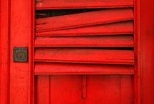 Doors, Red doors ..