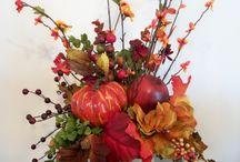 Arreglos florales Halloween