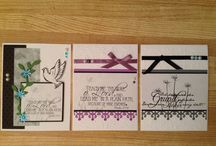 Cards and Banners by Claudia W. / all about my homemade cards and banners