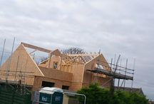 St Keverne - Timber Frame House / St Keverne, Cornwall.  Another project Timber Frame House