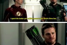 Green Arrow and Flash
