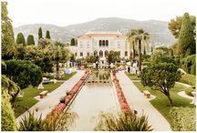 Real Wedding: Carey & Alexandre - Villa Ephrussi de Rotschild - French Riviera / Real Wedding: Carey & Alexandre - Villa Ephrussi de Rotschild - French Riviera