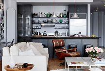 Livingroom with Opel kitschen