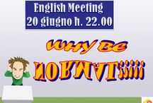ENGLISH MEETING NAPOLI: WHY BE NORMAL?! / Archeobar Caffè Letterario and Tecla Associazione Culturale invite you at our next English Meeting:  WHY BE NORMAL??!!! Foreign language learners help each other in building confidence in using another language. Participants come to practice a foreign language and make friends in a warm and friendly environment. If you want to spend a nice evening chatting, drinking something, meeting new people, join us!