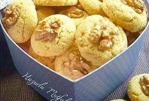 helva tadında tahinli kurabiye