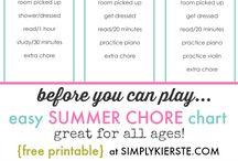 family {summer ideas for kids}