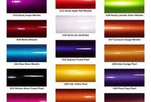 Car color ideas - Autolakhandel.dk