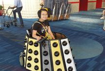 Whovian wheelchair costumes / Everything BUT TARDISes. Nothing against those, I just don't want to make one.